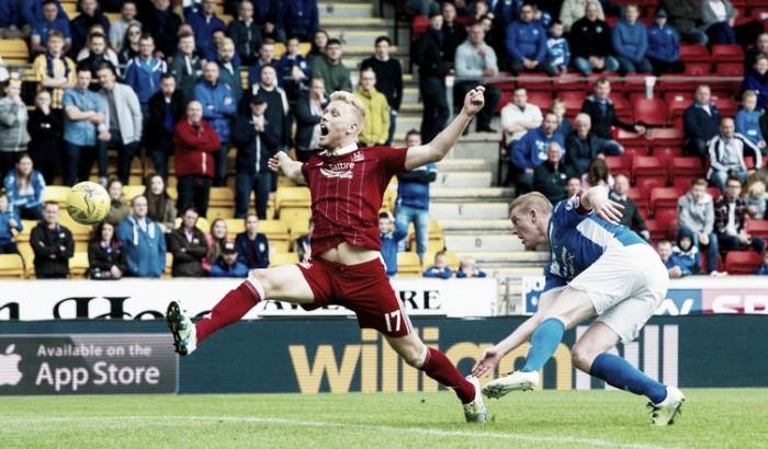 St. Jonhstone e Aberdeen não saem do zero em jogo equilibrado