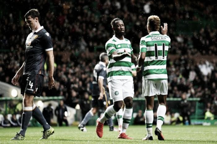 Com exibição de gala, Celtic goleia o Motherwell e avança na Copa da Liga