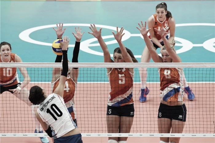 Holanda bate Coreia do Sul e alcança inédita semifinal no voleibol feminino