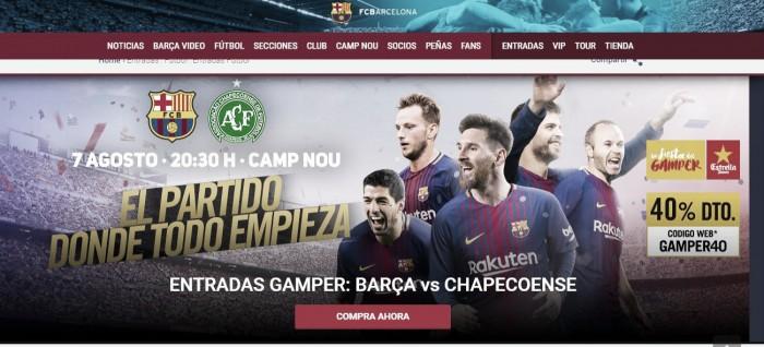 Barcelona retira Neymar de pôster promocional para partida contra Chapecoense