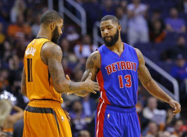 Detroit Pistons Defeat Phoenix Suns Behind 20 Points From Marcus Morris