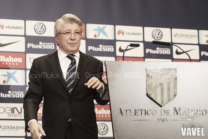 """Presidente do Atlético de Madrid descarta saída de Simeone: """"Intocável"""""""