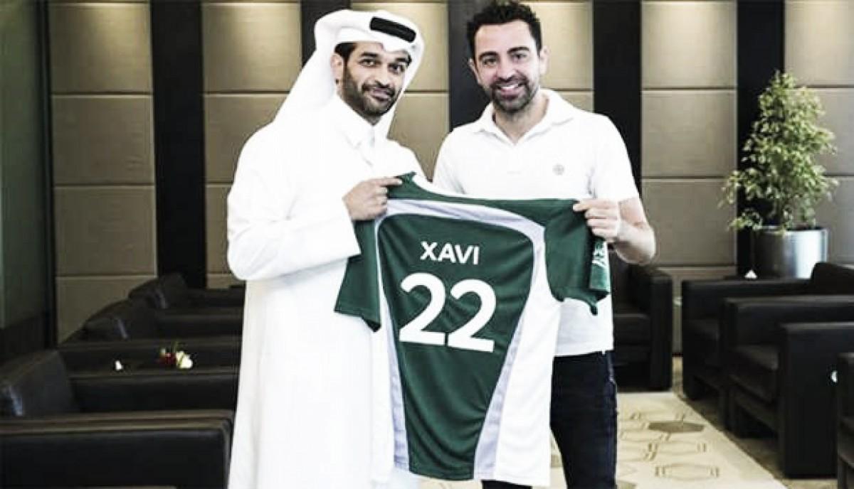 Há dois anos e meio no Catar, Xavi Hernández é anunciado como embaixador da Copa de 2022