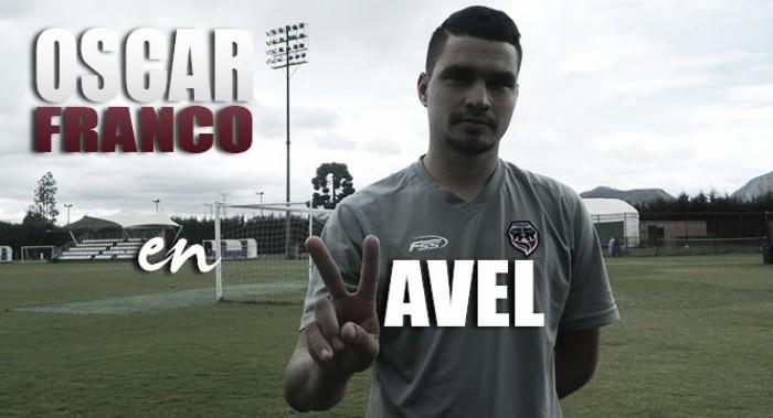 """Oscar Franco: """"Lo que prometo es trabajo porque los goles van a llegar"""""""