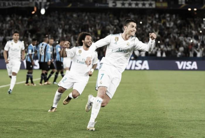 'Planeta salvo': Real Madrid bate Grêmio com gol de CR7 e conquista hexa do Mundial