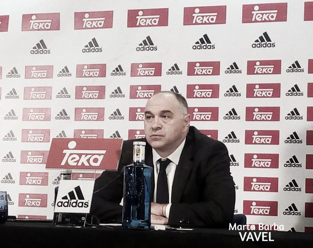 """Pablo Laso: """"Estoy muy contento por la victoria y por mis chicos"""""""