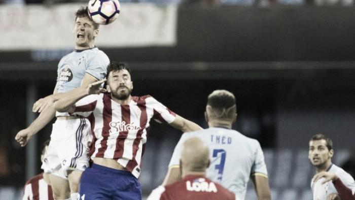 Iago Aspas decide no fim e Celta de Vigo bate Sporting Gijón no Balaídos