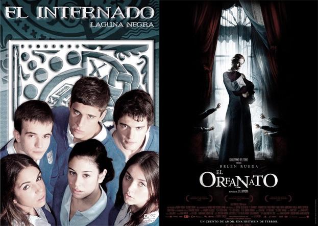 Una historia en dos formatos diferentes:¿El internado o el orfanato?