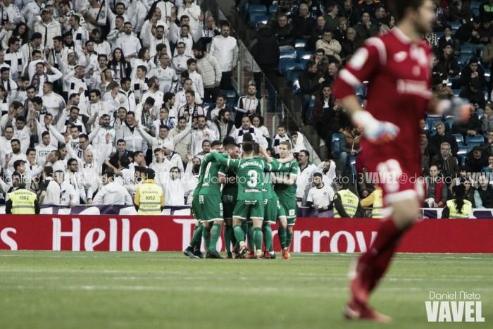 Real Madrid afastado da Taça do Rei pelo Leganés, no Santiago Bernabéu