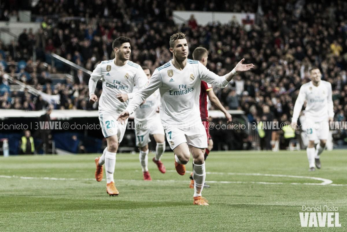 Imparável: Cristiano Ronaldo faz quatro, e Real Madrid supera Girona em jogo de nove gols