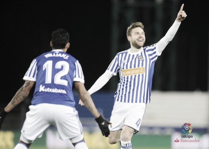 Dupla Willian José e Illarramendi brilha, Sociedad goleia Deportivo e volta a vencer após quatro jogos
