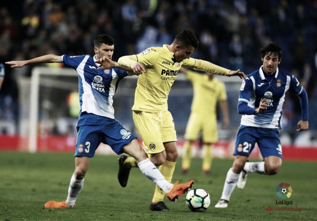 Villarreal sai na frente, mas não aguenta pressão e apenas empata com Espanyol
