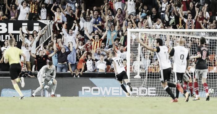 Valencia Sofre Mas Vence Bilbao Em Casa E Segue Com