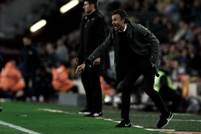 "Luis Enrique comemora goleada e fala que jogadores saíram ""reforçados"" da partida"