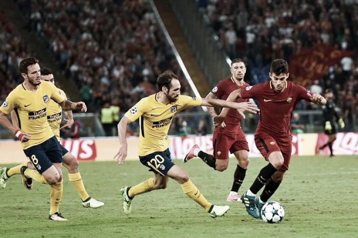 Roma conta com grande atuação de Alisson e empata com Atlético de Madrid em casa