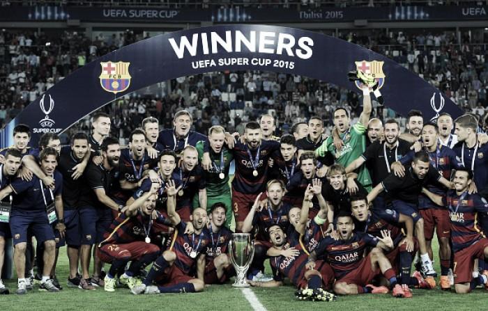 Relembre: em 2015, Barcelona e Sevilla fizeram jogo memorável de nove gols
