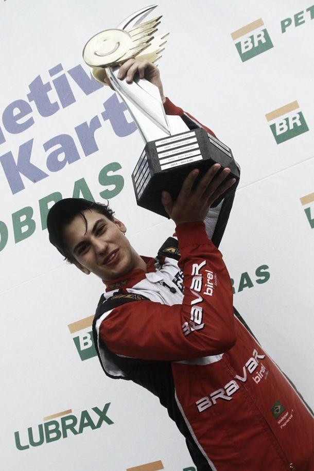 Paulista Vinícius Papareli é campeão da Seletiva de Kart Petrobras