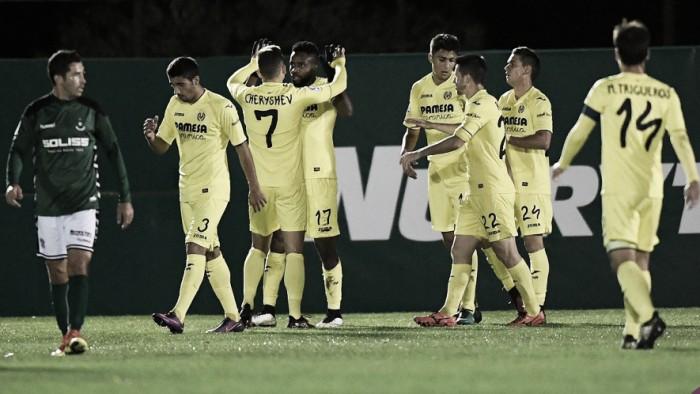 Em ritmo de treino, Villareal encaminha classificação contra Toledo