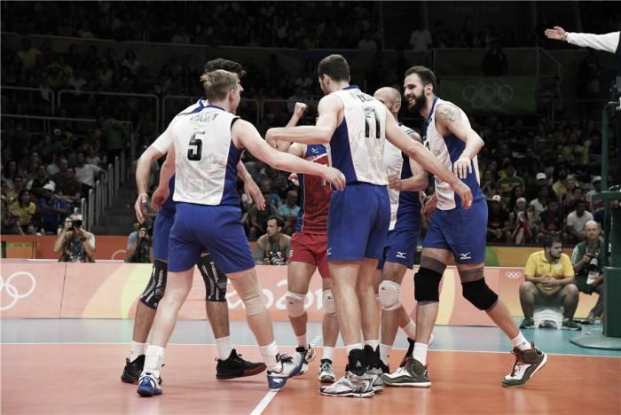 Rússia confirma favoritismo e continua firme no sonho do bicampeonato olímpico