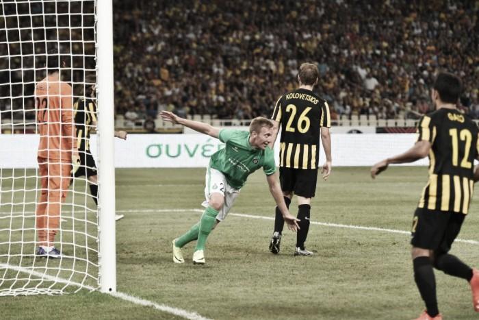 Saint-Étienne vence AEK em Atenas e avança na Europa League