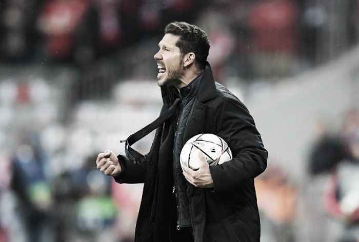 """Diego Simeone exalta mais uma classificação: """"O destino nos permitiu chegar a essa final"""""""