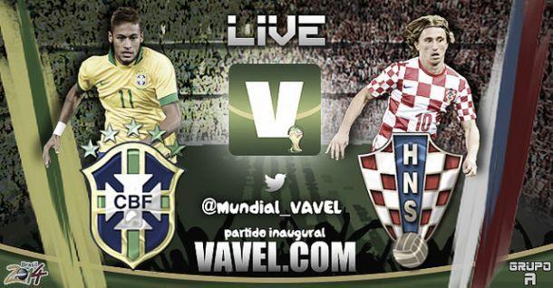Diretta Brasile - Croazia in Mondiali Brasile 2014