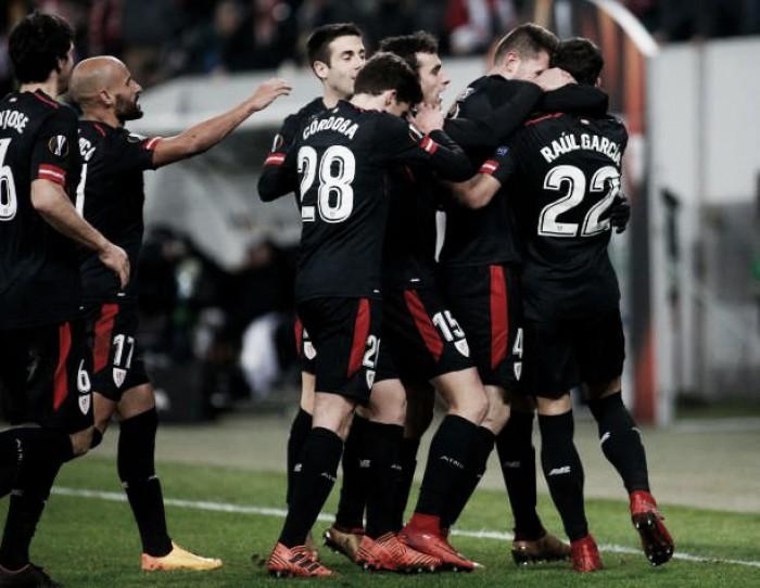 Athletic Bilbao bate Zorya fora de casa e avança ao mata-mata da Europa League