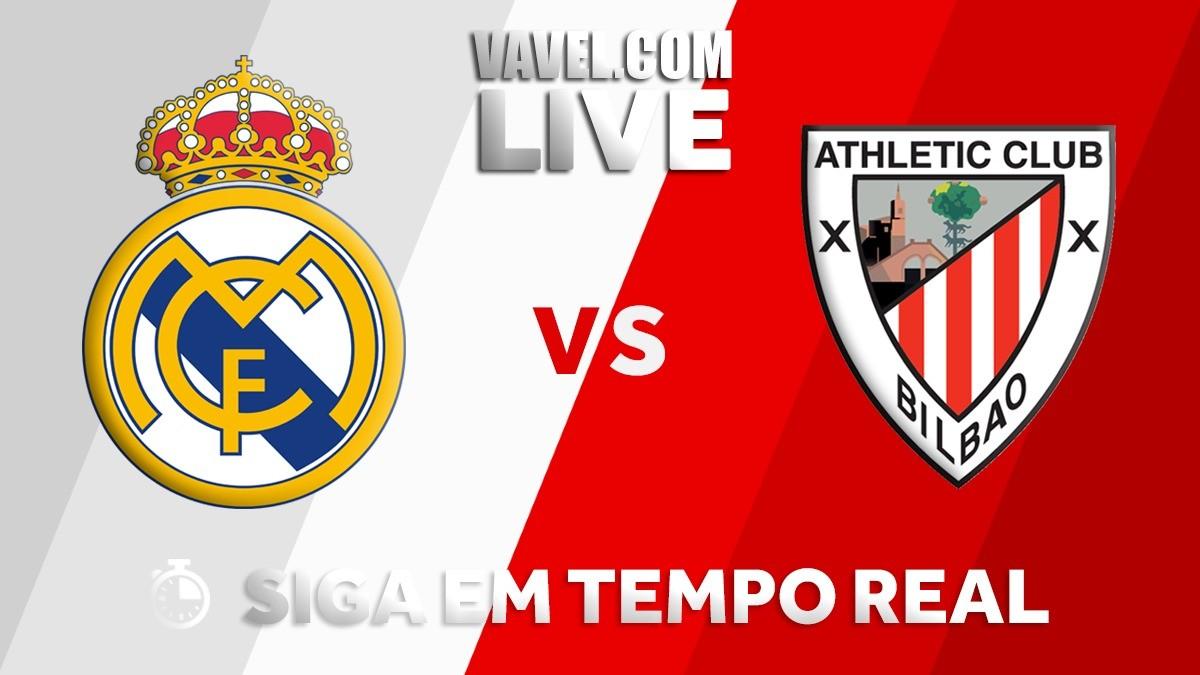 Resultado Real Madrid x Athletic Bilbao pelo Campeonato Espanhol 2017/18 (1-1)