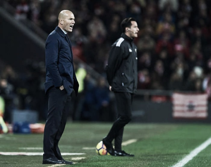 """Zidane lamenta chances perdidas após empate contra Athletic: """"Perdemos muitos gols"""""""