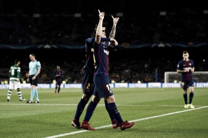Sporting ainda sonha com os oitavos — Champions
