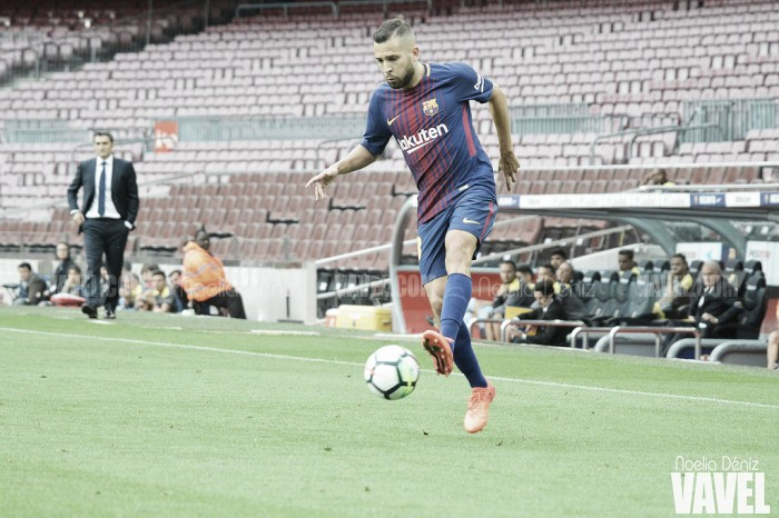 Jordi Alba volta atrás e nega ter dito que atua melhor sem Neymar no Barcelona