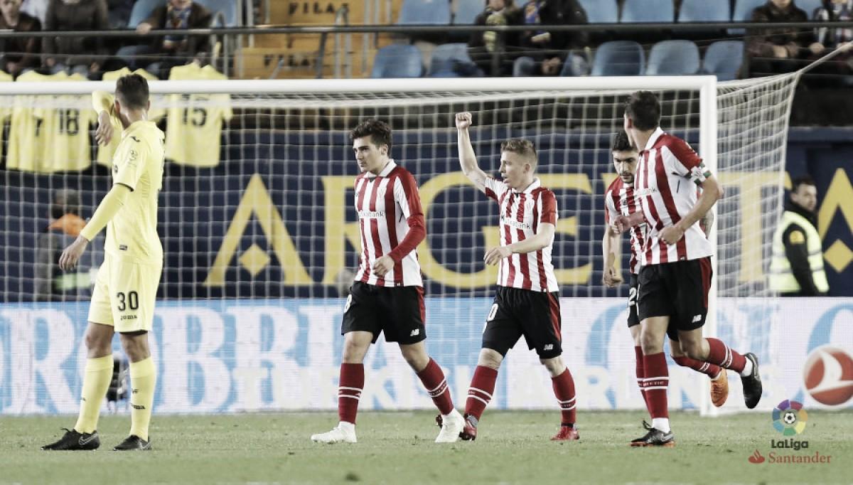 Muniain retorna com gol e ajuda Athletic Bilbao a bater Villarreal fora de casa
