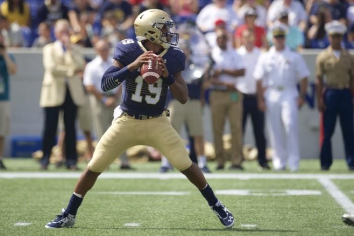 Navy Quarterback Keenan Reynolds Awarded Number Retirement