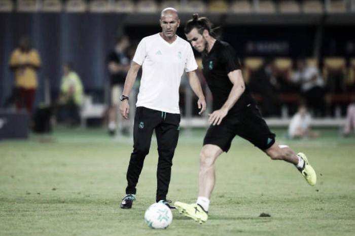 """Zidane minimiza lesões de Bale: """"Jogador muito importante para nós"""""""