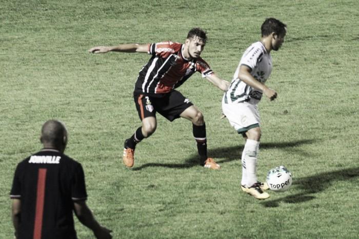 Goleiro Agenor brilha e Joinville busca empate com Luverdense fora de casa