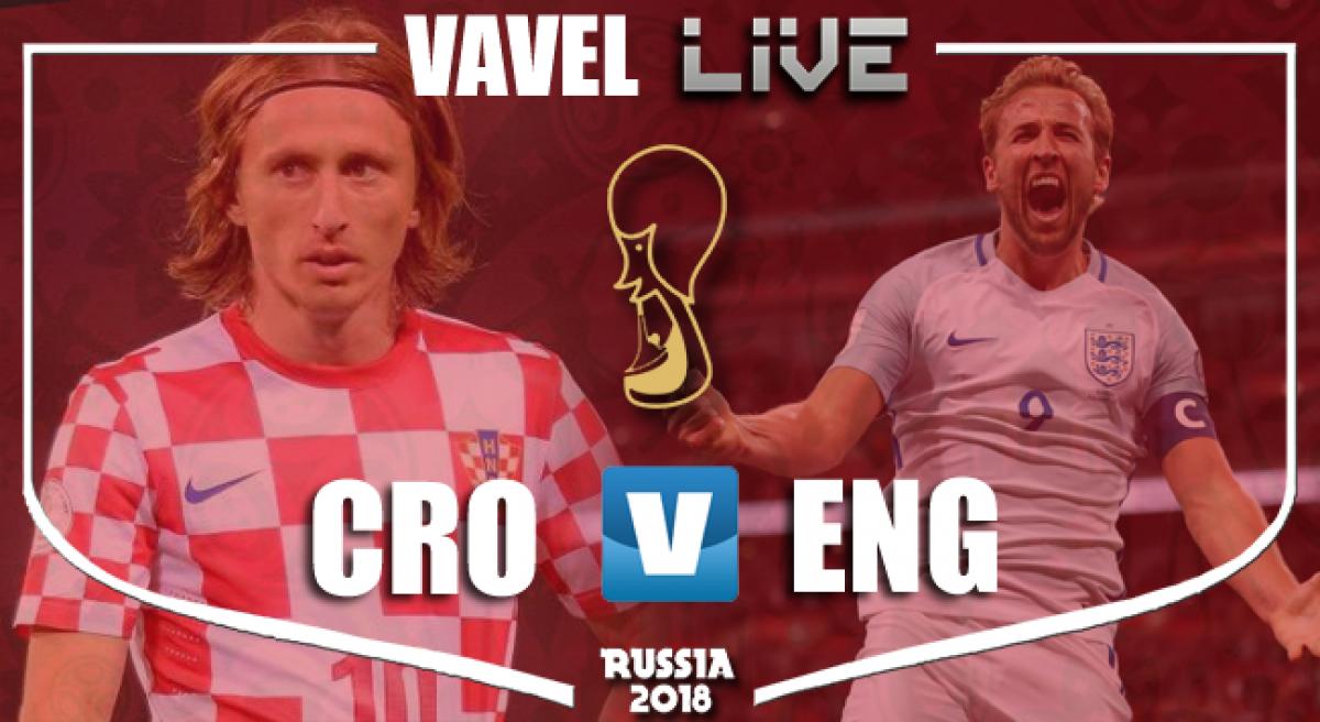 Terminata Croazia-Inghilterra, LIVE Mondiali Russia 2018 (2-1): Sarà Croazia-Francia in finale!