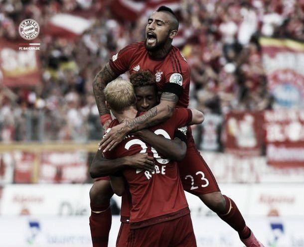 Bayern vence Darmstadt com grandes atuações de Rode e Douglas Costa
