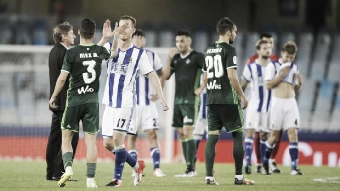 Real Sociedad domina e vence Bétis na abertura da rodada do Campeonato Espanhol