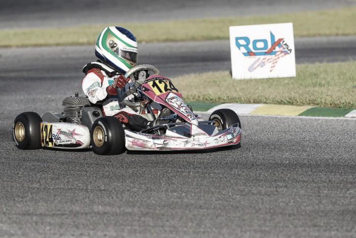 Felipe Bartz estreia na Itália, pela final do Rok Cup de kart