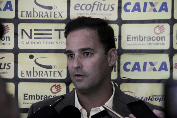 """Novo executivo é apresentado no Criciúma e já projeta sucesso: """"Sangue vitorioso"""""""