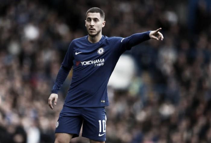 """Hazard 'atiça' rumores de possível ida ao Real Madrid: """"No futebol, nunca se sabe..."""""""
