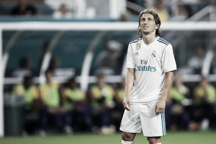 Modric está fora do primeiro jogo da Supercopa da Espanha