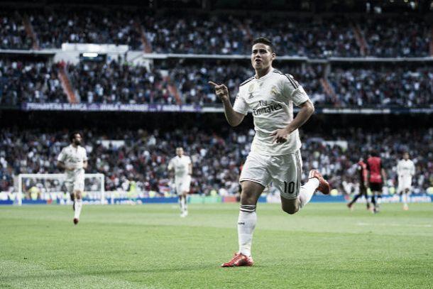 James se adueñó del Bernabéu