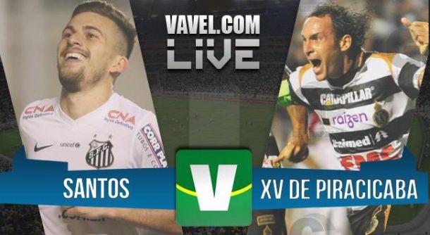 Resultado Santos x XV de Piracicaba 2015 (3-0) - VAVEL.com 0968c14a2f91d