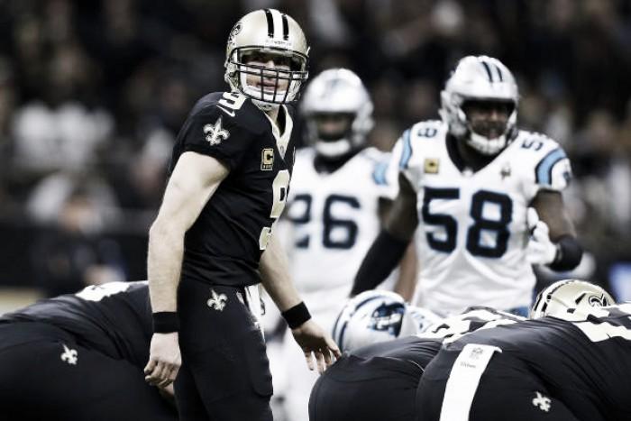 Inspirado, Drew Brees comanda vitória dos Saints sobre Panthers em final emocionante