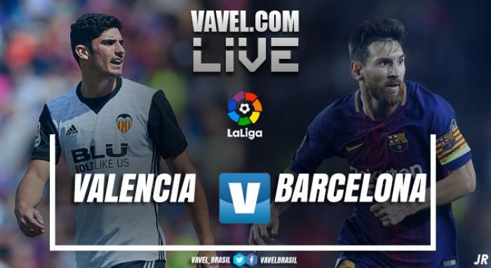 Valência x Barcelona: Assista os melhores momentos da partida