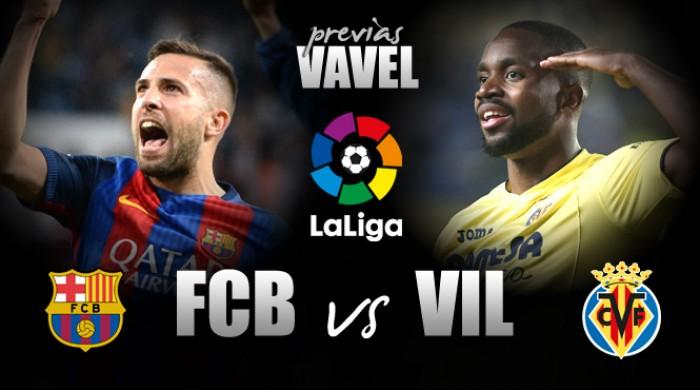 Barcelona recebe Villarreal buscando se manter na briga pelo título espanhol