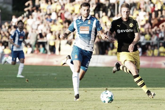 Espanyol vence Borussia Dortmund pelo placar mínimo e segue 100% na pré-temporada