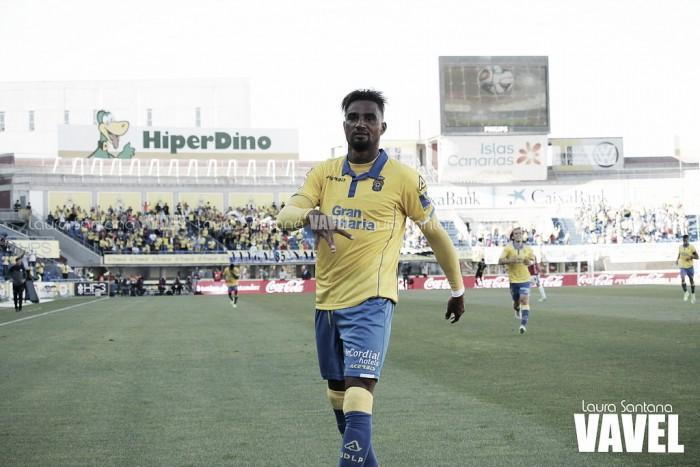 Destaque na temporada, Boateng renova com Las Palmas por mais três temporadas