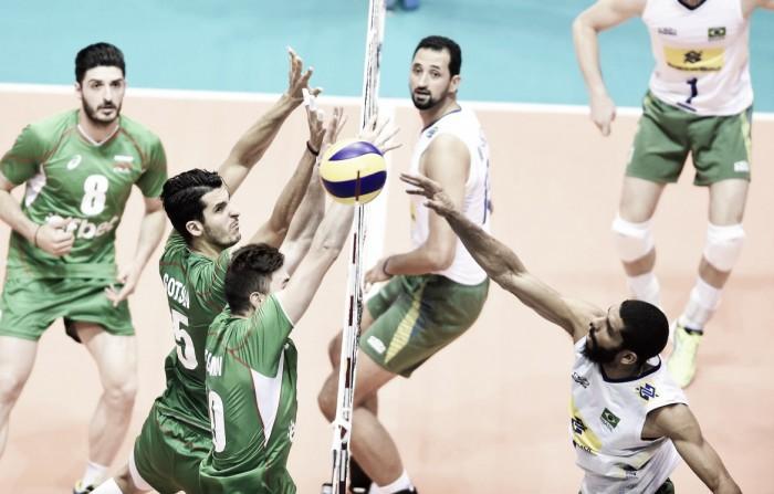 Sem sustos, Brasil vence Bulgária pela Liga Mundial de Vôlei